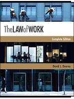 """Professor Doorey's Book """"The Law of Work"""""""