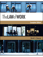 The Law of Work by Professor David Doorey