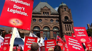 Did the Liberals Violate the Labour Relations Act By Giving Money to Teachers Unions?