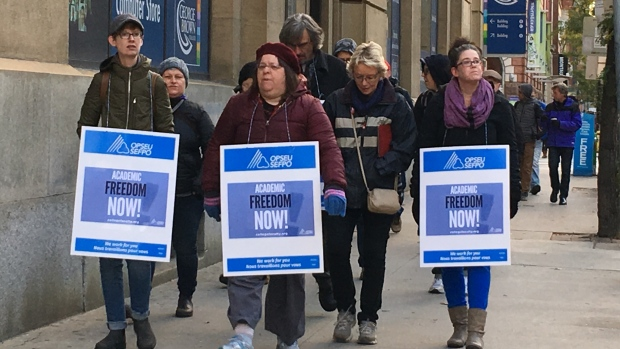 "College Instructors Overwhelmingly Reject Employer's ""Final Offer"" (Photo Source: CBC)"