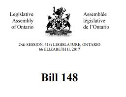 My Review of Bill 148 ESA Reforms (With Just a Little Snarky Commentary)